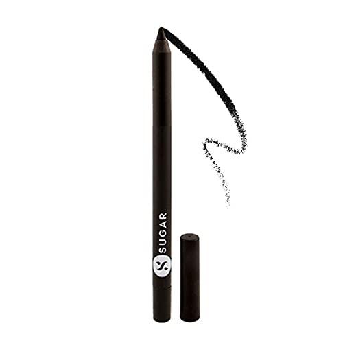 SUGAR Cosmetics Stroke Of Genius Heavy-Duty Kohl 01 Back to Black (Black), 1.2 g