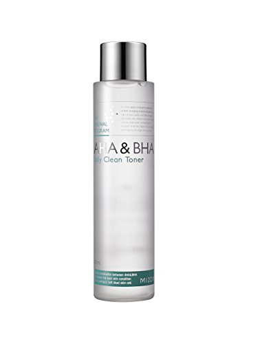 Mizon AHA&BHA Daily Clean Toner 5.07 fl oz, Daily Peeling Toner, Smooth Skin Texture, Removes Skin...