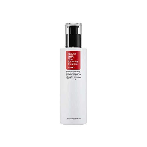 COSRX Natural BHA Skin Returning Emulsion, 100ml, for ACNE or Oily Skin