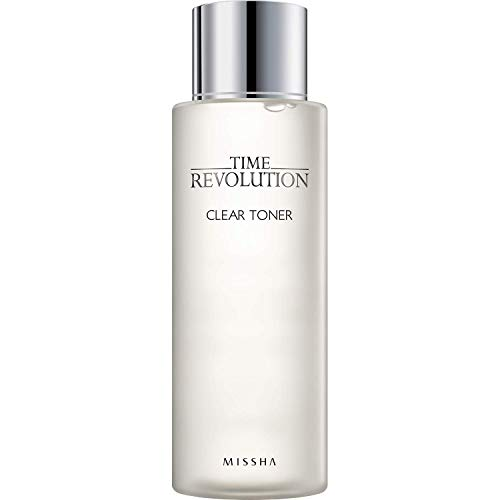 MISSHA Time Revolution Clear Toner 250ml-Gentle and refreshing wipe off type Clear Toner hydrates,...