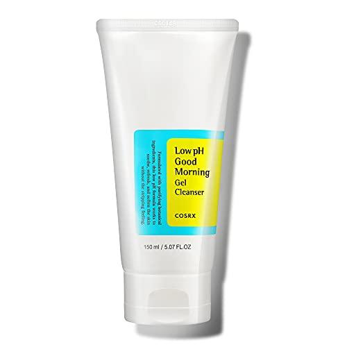 COSRX Low pH Good Morning Gel Cleanser, 5.07 fl.oz / 150ml | Mild Face Cleanser | Korean Skin Care...
