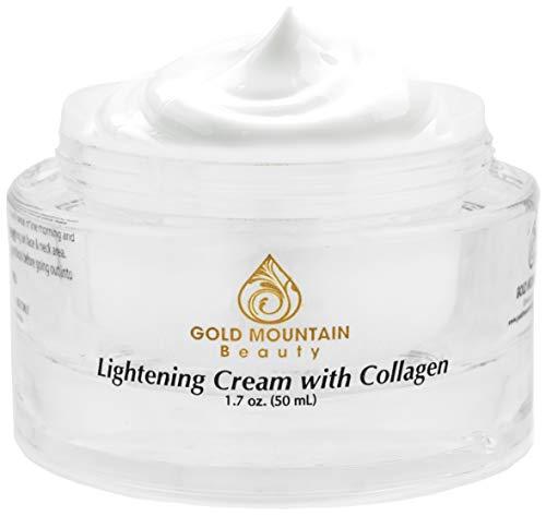 Collagen Skin Whitening Cream - Brightening Face Moisturizer (White)