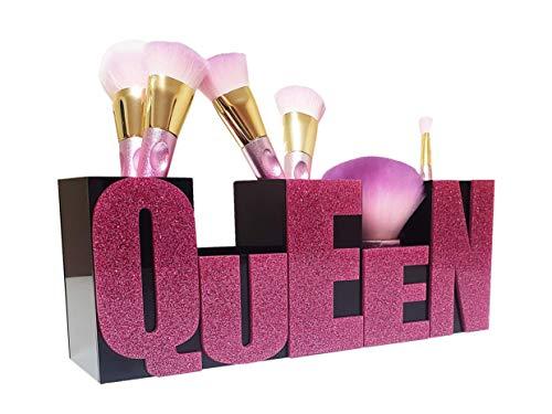 FEMMESDIVA Brush Holder/Cosmetics Brushes Holders /Makeup Organizer Cup/Pencil Cups/ Cosmetic...