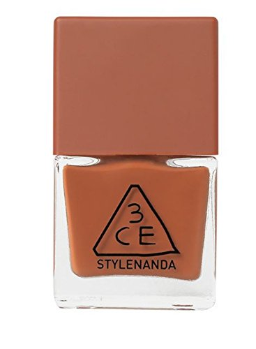 3CE (3 Concept Eyes) StyleNanda Mood Recipe Long Lasting Nail Lacquer Manicure (10ml) (BR07)