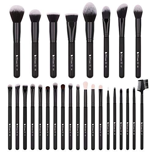 DUcare Makeup Brush Set 27Pcs Professional Makeup Brushes Women Gift Premium Synthetic Kabuki...