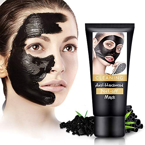 Blackhead Remover Mask, Black Mask Charcoal Face Mask For Face with Acne, Oily Skin and Blackheads,...