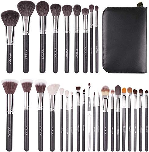Docolor Makeup Brushes 29 Piece Professional Makeup Brush Set Premium Goat Hair Kabuki Foundation...