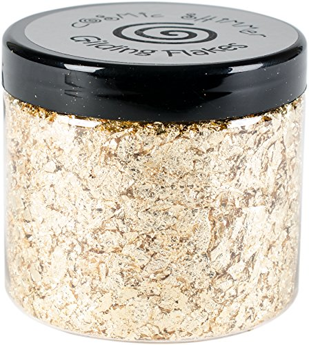 Creative Expressions Cosmic Shimmer Gilding Flakes 200ml, Golden Jewel