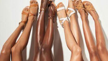 best bronze leg makeup