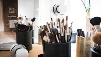 32 piece makeup brush set
