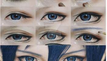 how to get anime eyes