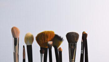 makeup brush cleaner mat