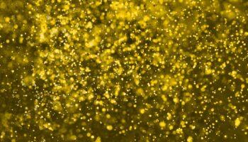 gold flakes makeup